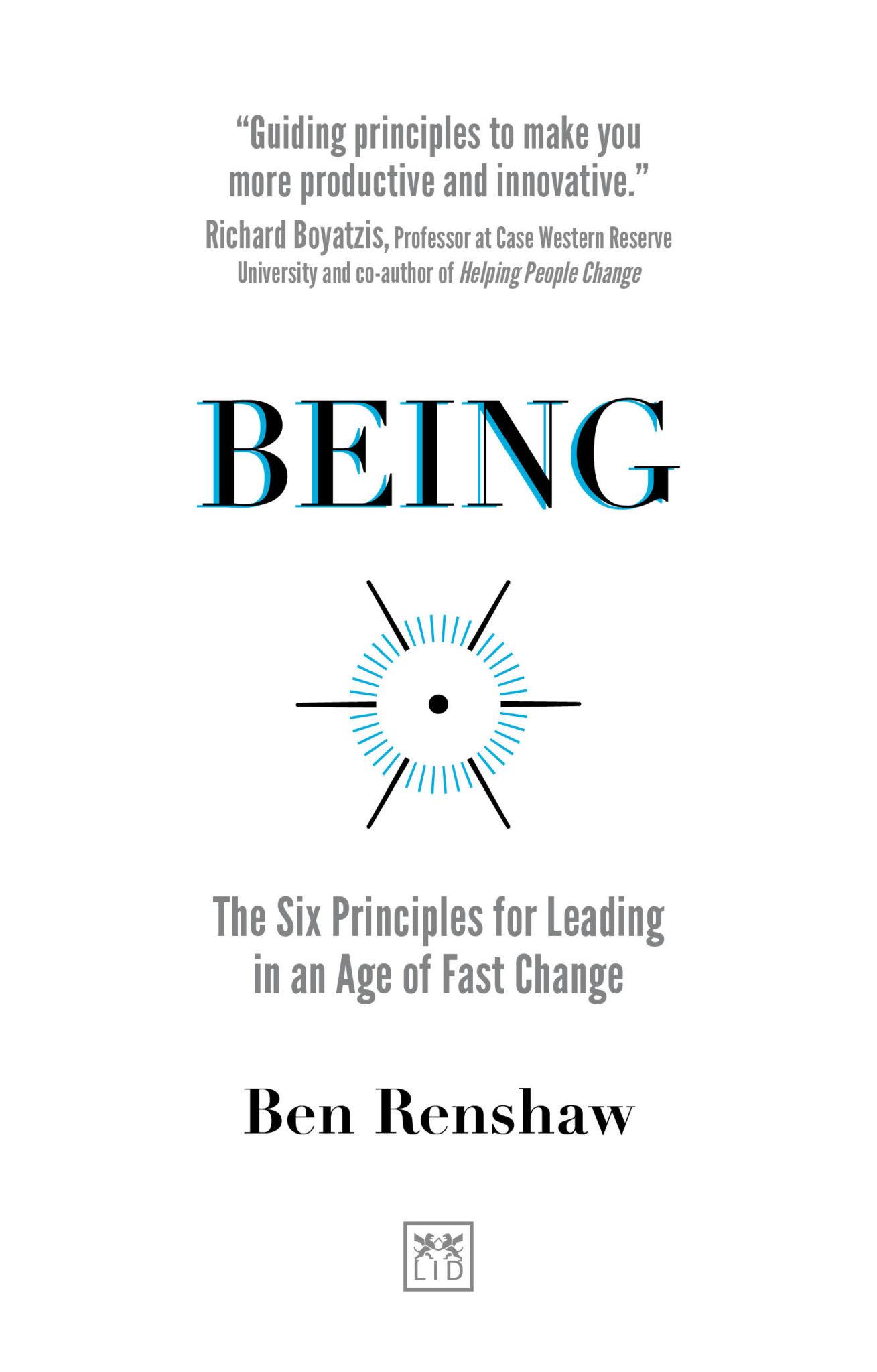 Ben Renshaw Book 'Being'